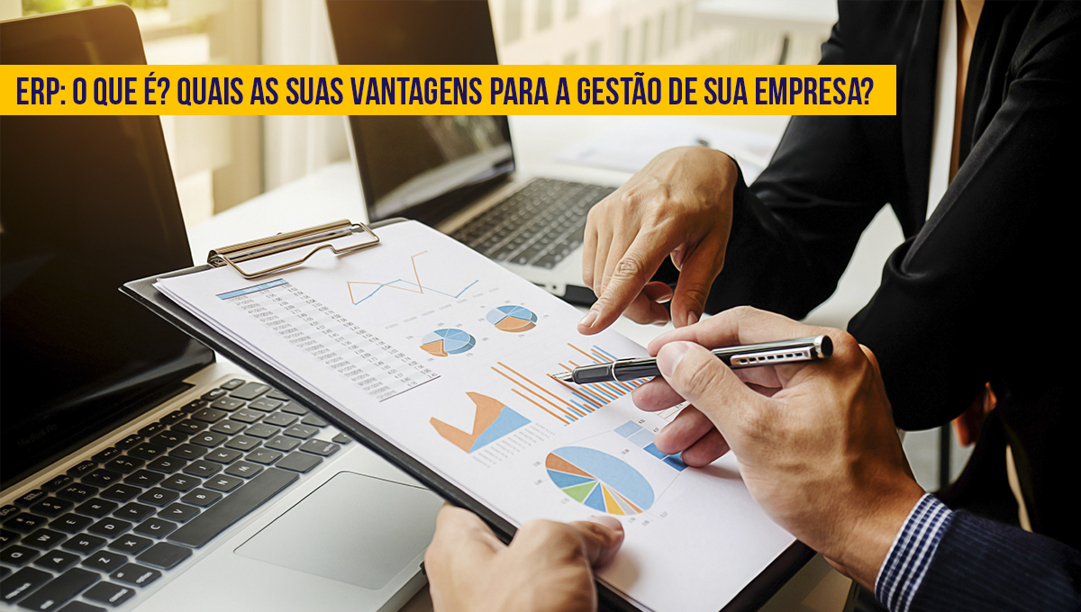 sistema ERP para gestão empresarial
