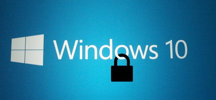 Como recuperar a senha do seu computador no Windows 10