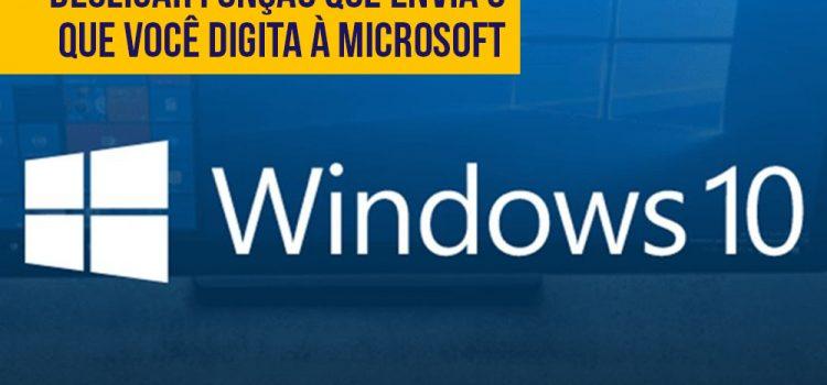 Windows 10 vai permitir desligar função que envia o que você digita à Microsoft