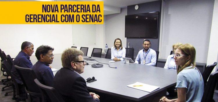 Gerencial Informática e Senac-MS Nova Parceria