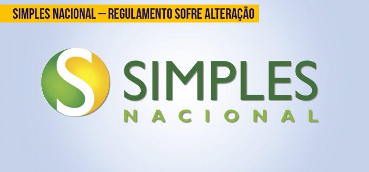 Simples Nacional – Regulamento sofre alteração